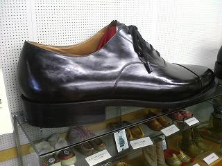 特大サイズの革靴