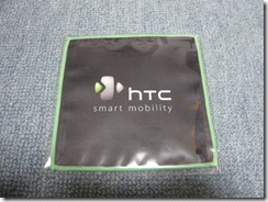HTCロゴ付きクリーナー