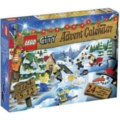 レゴ シティ アドベントカレンダー 7724