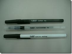 Bicのボールペン