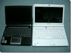EeePC901と比較