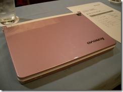 IdeaPad S10e ピンク