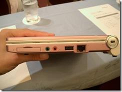 IdeaPad S10e(右側面)