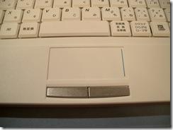 IdeaPad S10e(トラックパット)