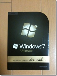 Windows7 Ultimate Signature Edition