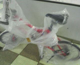 ゴミ袋に包まれたMV2pro