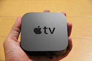 手のひらサイズのAppleTV