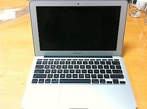 MacBook Air 11インチ
