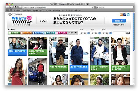 What's up TOYOTA?  ‐みんなのトヨタ観‐