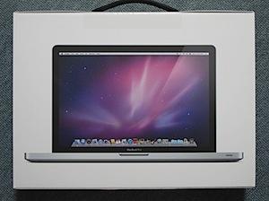 MacBook Proのパッケージ