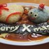 クリスマスライムハヤシライス!!