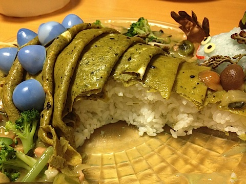 野菜たっぷり健康王蟲ライス