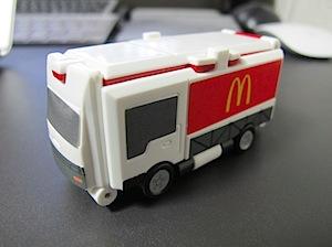 マクドナルドトラック