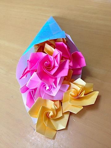 折紙の花束