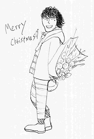 宮野真守のクリスマスカード