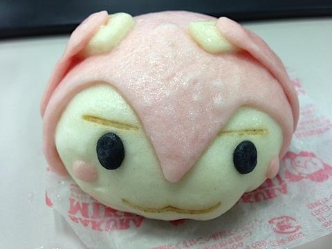 桜ミクまん(こしあん)