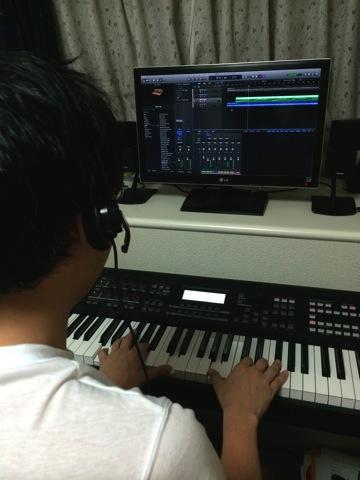 鍵盤を弾きながらの文字入力