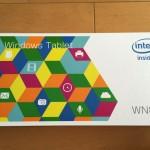 Windowsタブレット「WN891」を入手!
